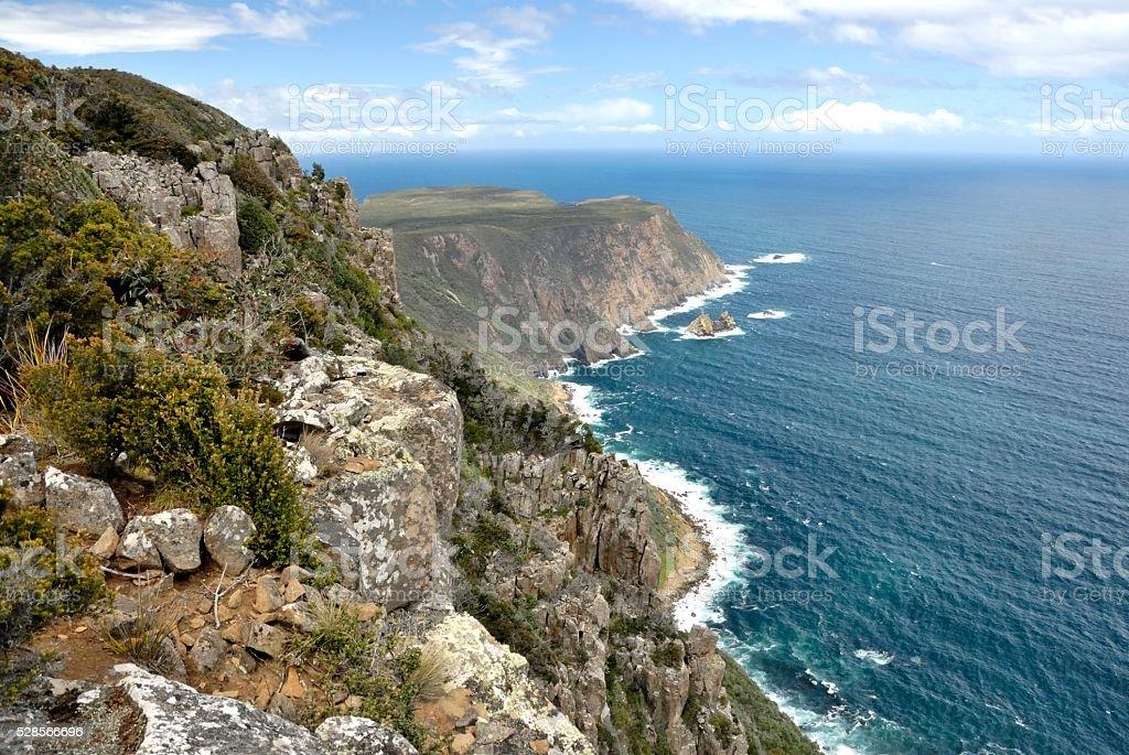 Cape Raoul Tasmania stock photo