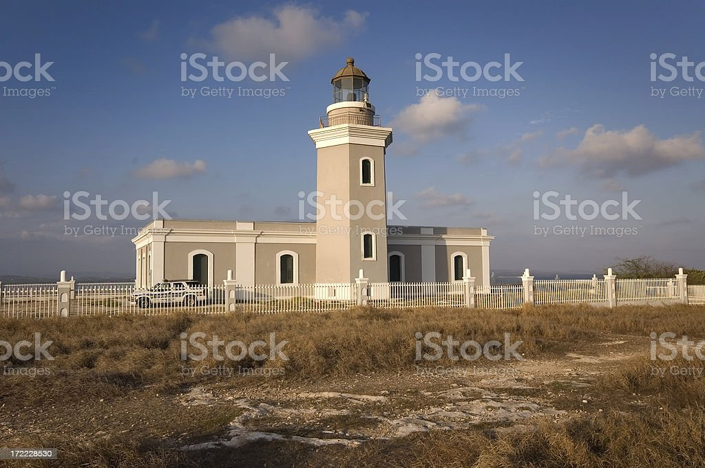 Cabo Rojo Lighthouse royalty-free stock photo