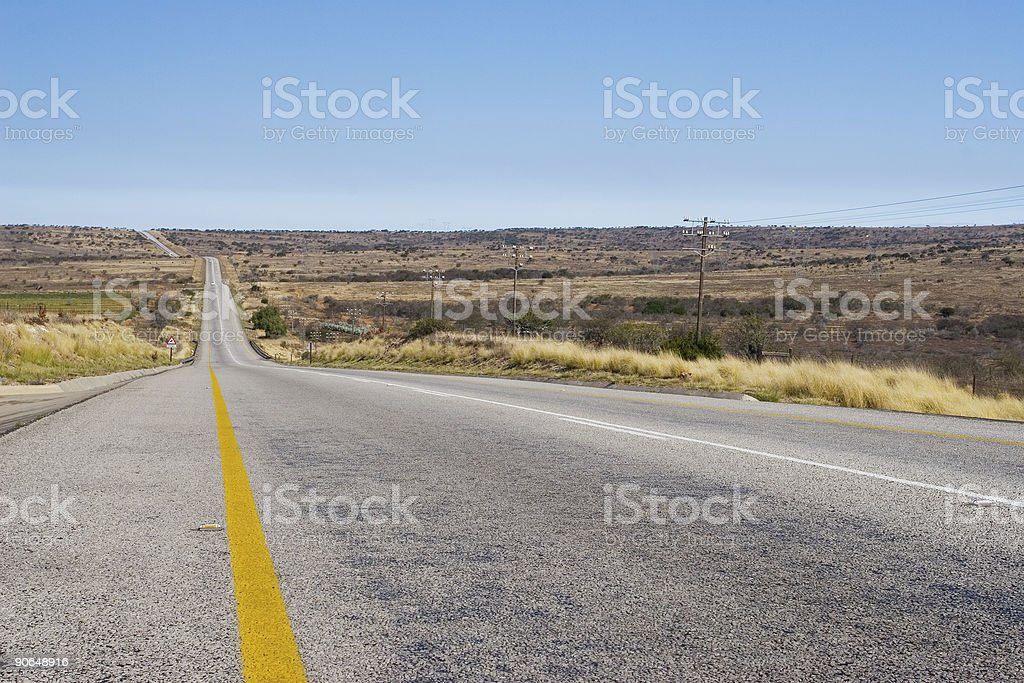 Cape roads #6 royalty-free stock photo