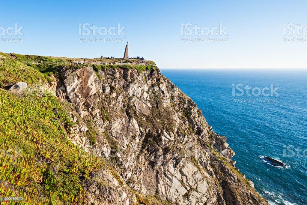 Cape Roca, Portugal stock photo