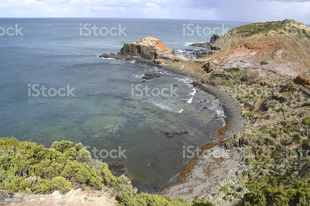 cape schank view royalty-free stock photo