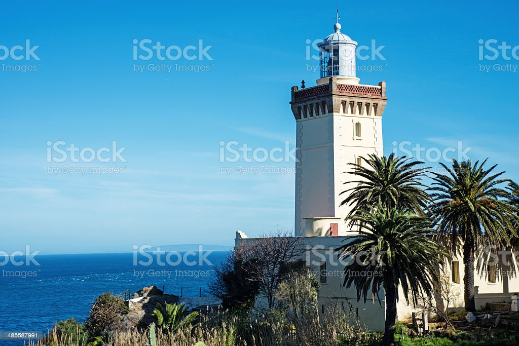 Cape Spartel stock photo