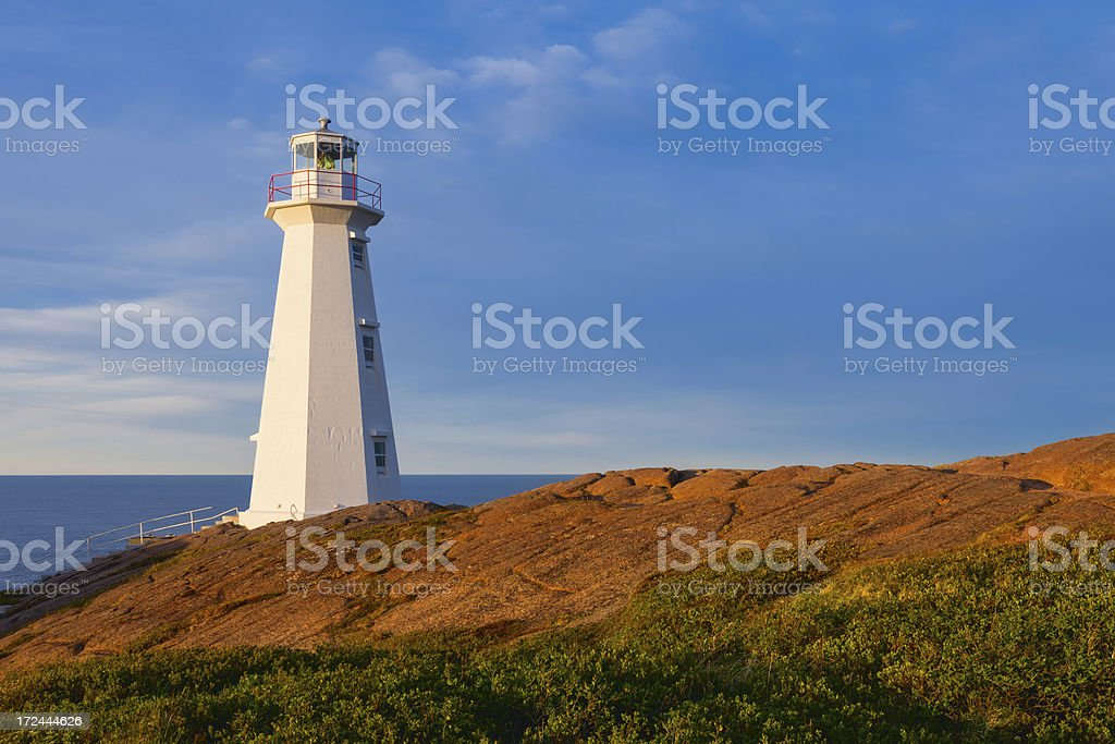 Cape Spear, Newfoundland, Canada stock photo