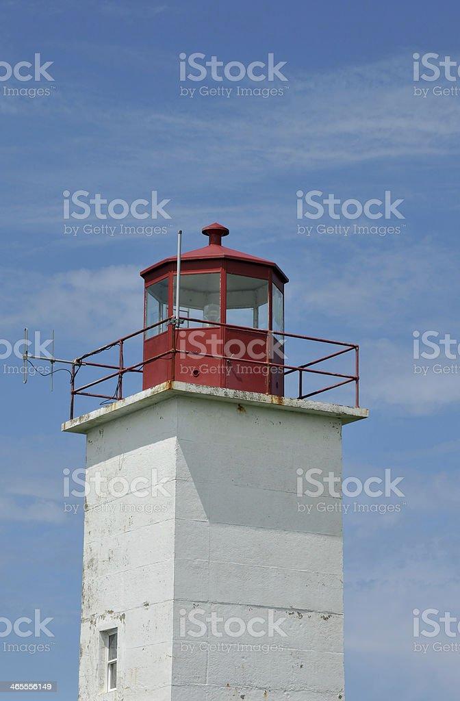 Cape St. Mary Lighthouse stock photo