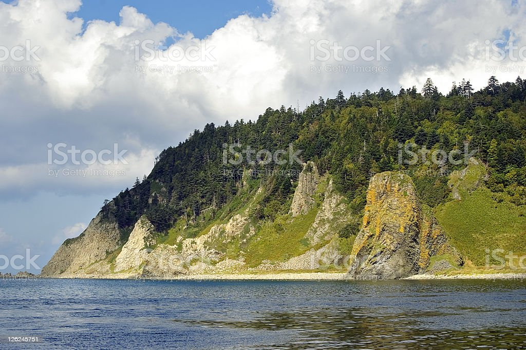 Cape Stolbchatyj stock photo