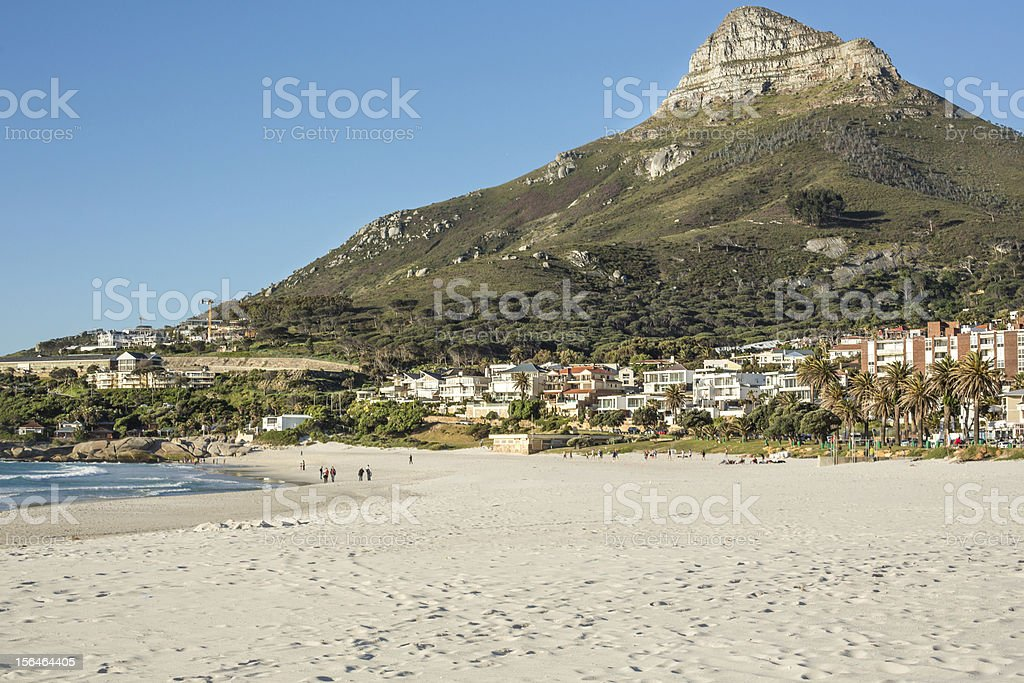 Cape Town Beach royalty-free stock photo