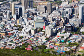 Cape Town Business District & Bo-Kaap Aerial