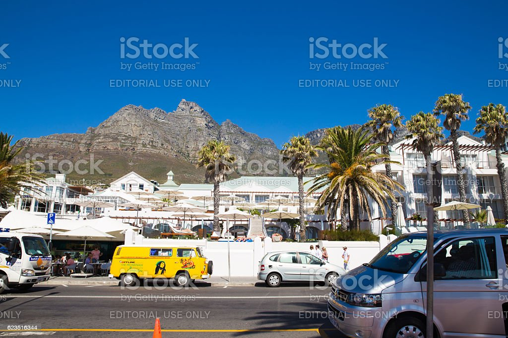 Cape Town City Centre - South Africa stock photo