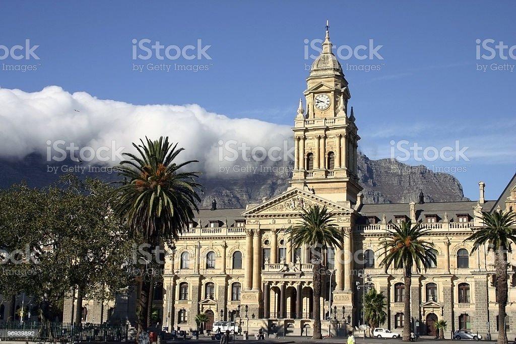 Cape Town City Hall stock photo