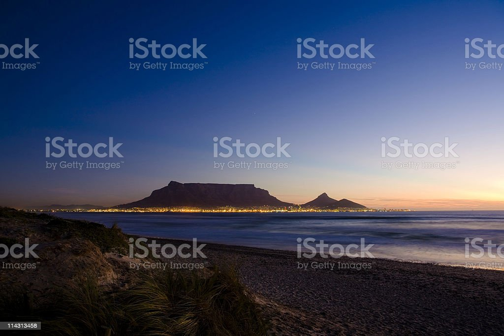 Cape Town lights #1 royalty-free stock photo