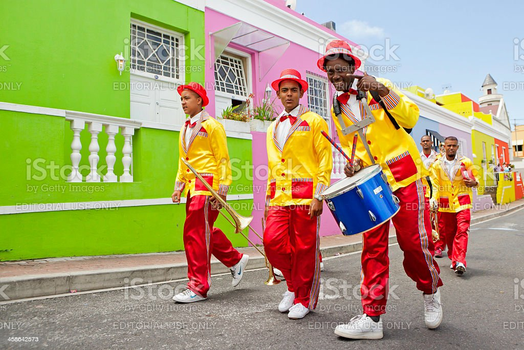 Cape Town Minstrels Carnival royalty-free stock photo
