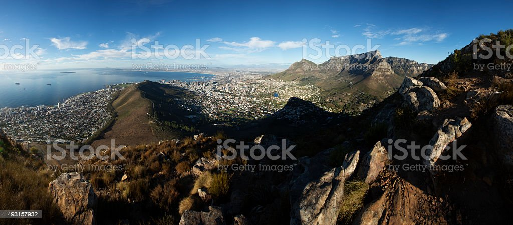 Cape Town Panoramic stock photo