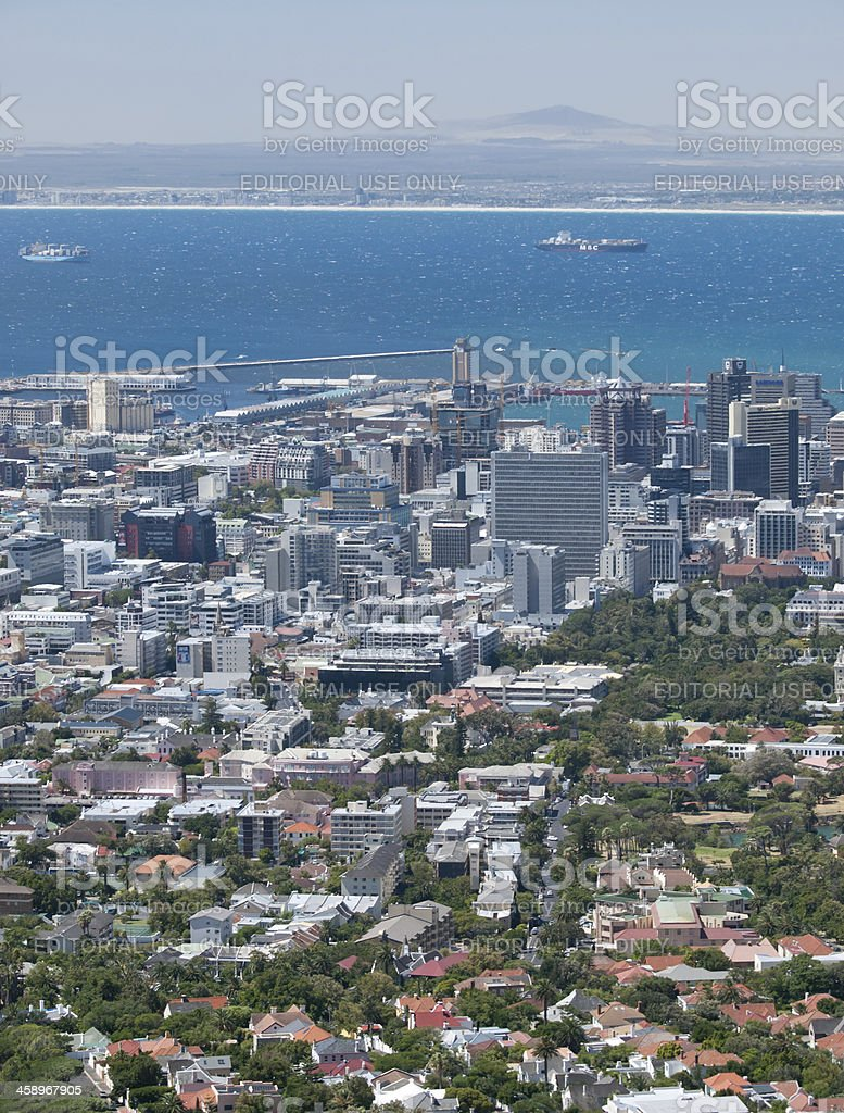 Cape Town stock photo