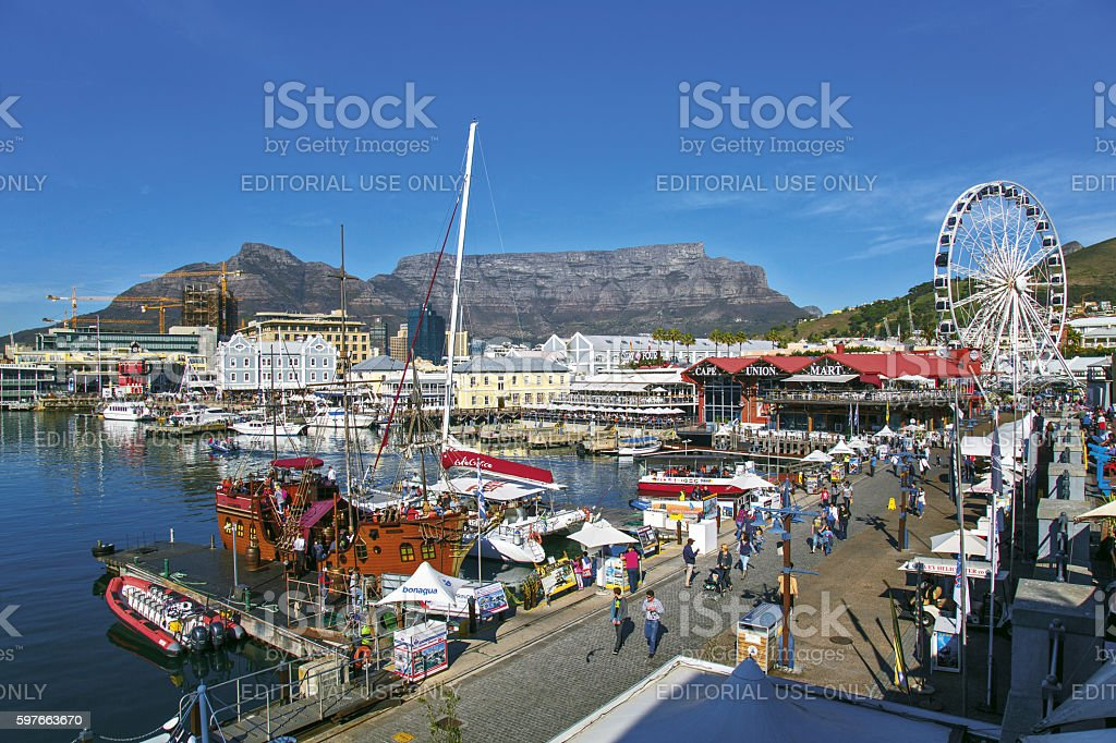Cape Town, South Africa stock photo