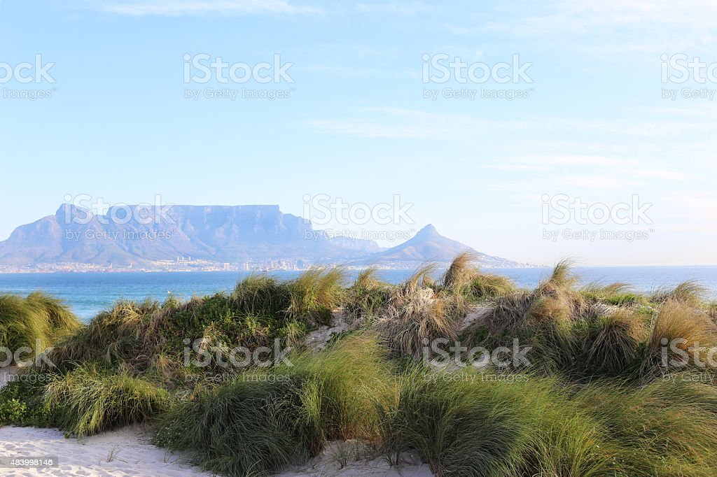 Cape Town - Table Mountain stock photo