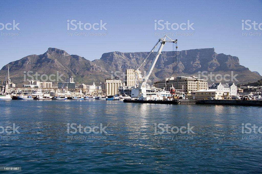 Cape Town frente al mar foto de stock libre de derechos