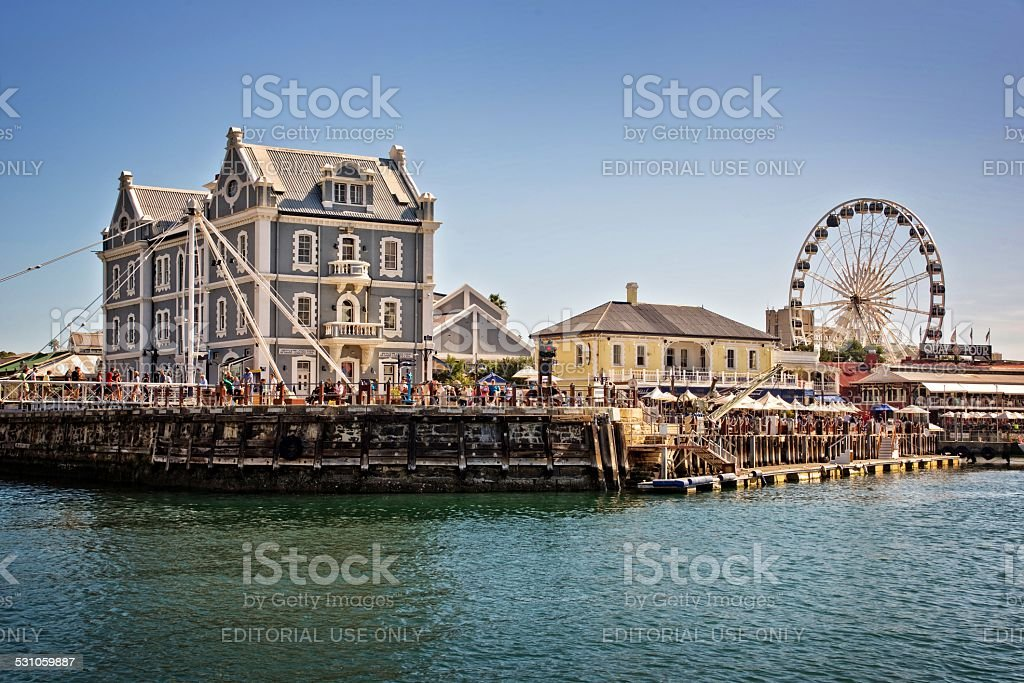 Cape Town Waterfront stock photo