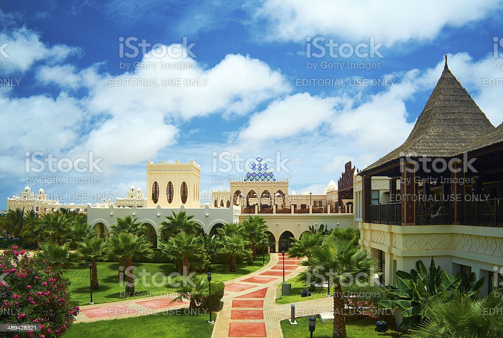 Cape Verde Hotel stock photo