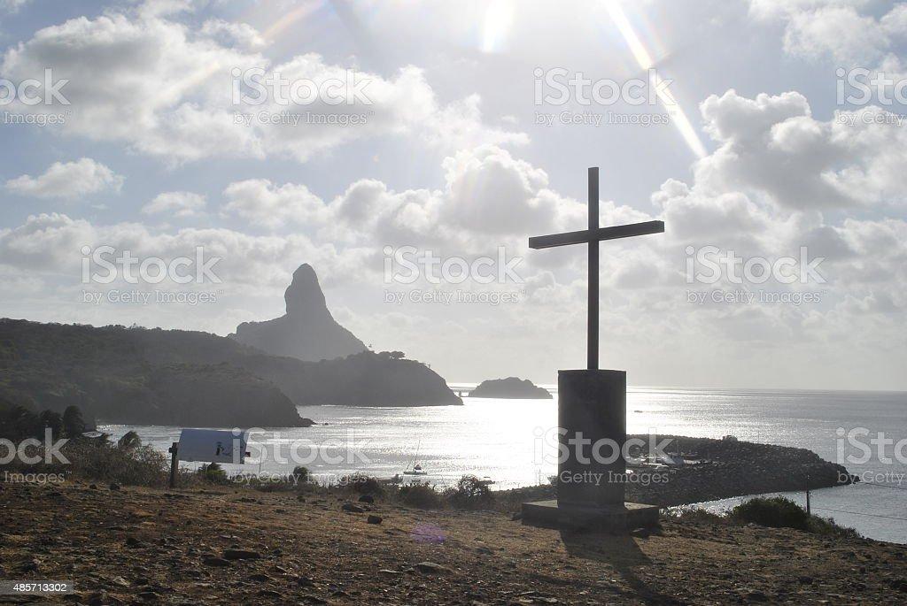 Capela no Alto do Porto stock photo