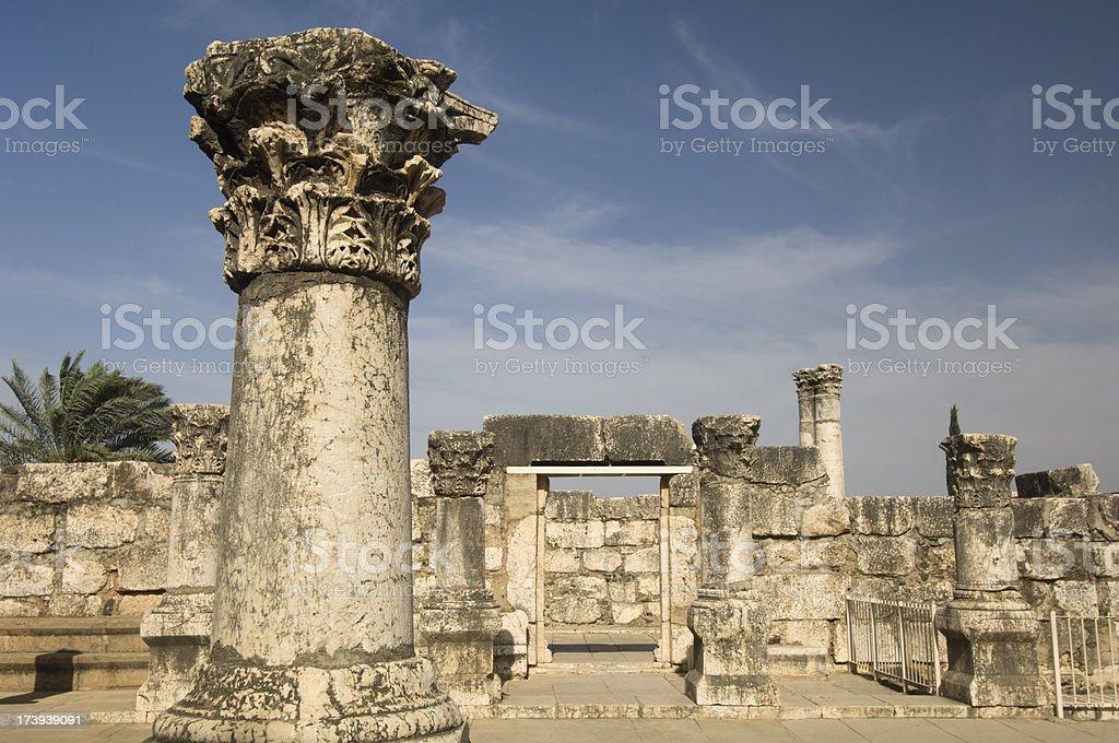 Capernaum stock photo