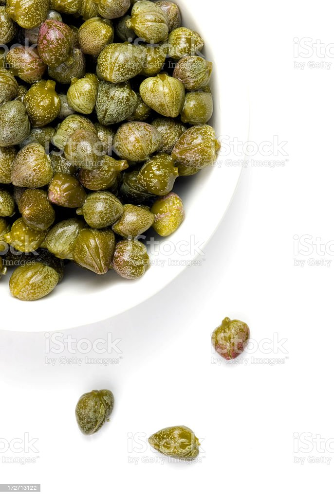 Capers royalty-free stock photo