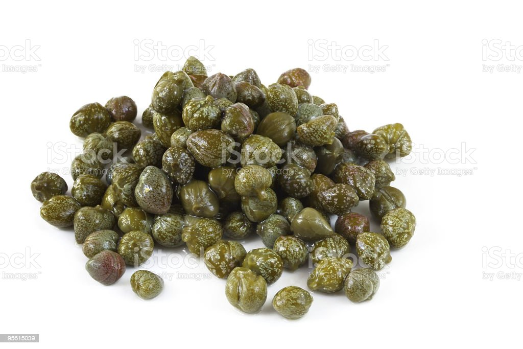 Capers stock photo