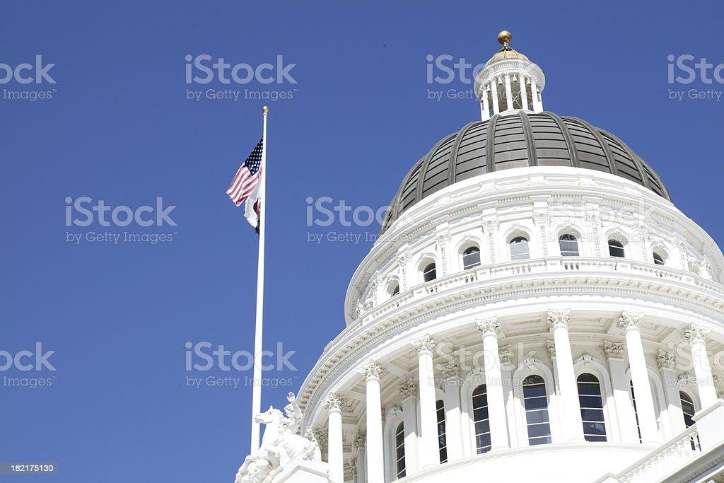 Capital Building royalty-free stock photo
