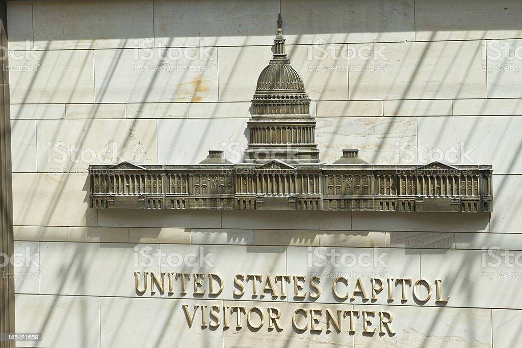 Capital Building Visitor center  Washington DC stock photo