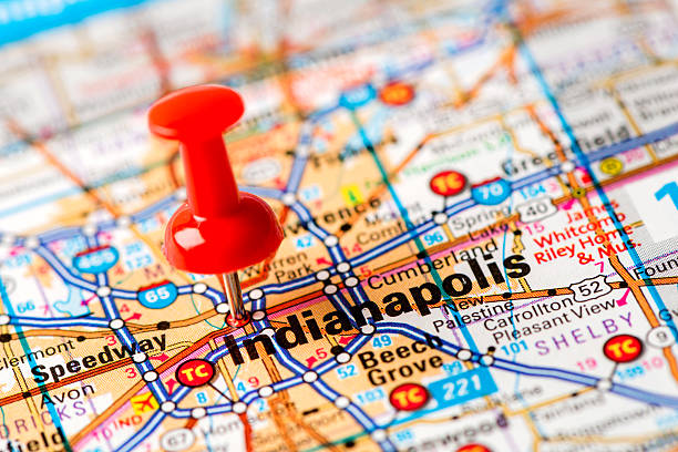 Indianapolis Pictures Images And Stock Photos IStock - Map of indianapolis showing us 52