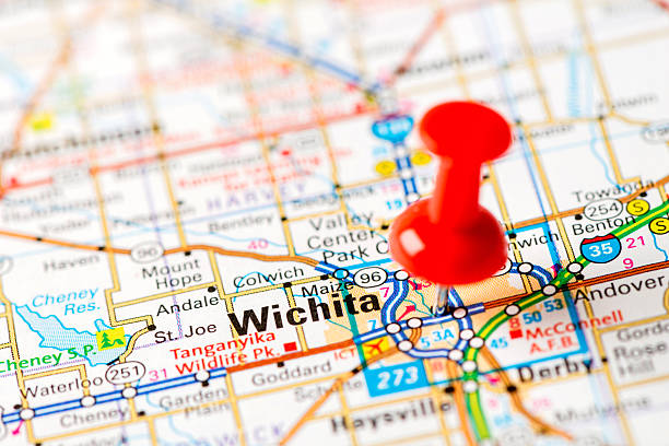 Wichita Pictures Images And Stock Photos IStock - Wichita kansas on us map
