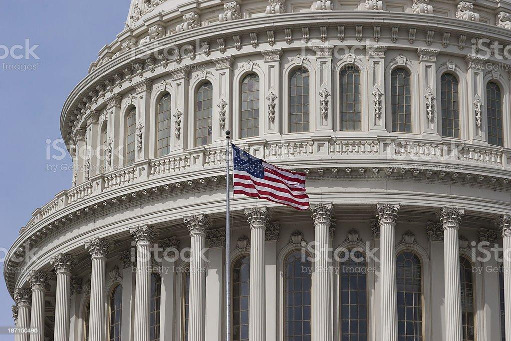US Capital Dome stock photo