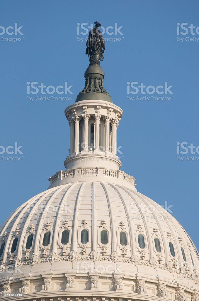 Capital Dome royalty-free stock photo