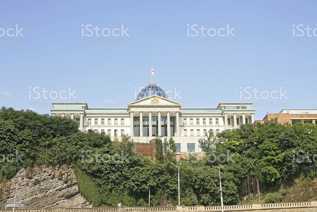 capital of the Georgian Republic royalty-free stock photo