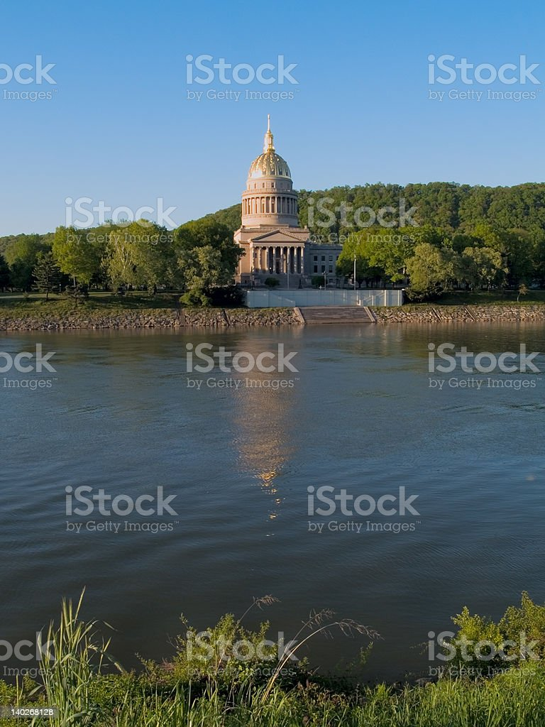 Capital of West Virginia stock photo
