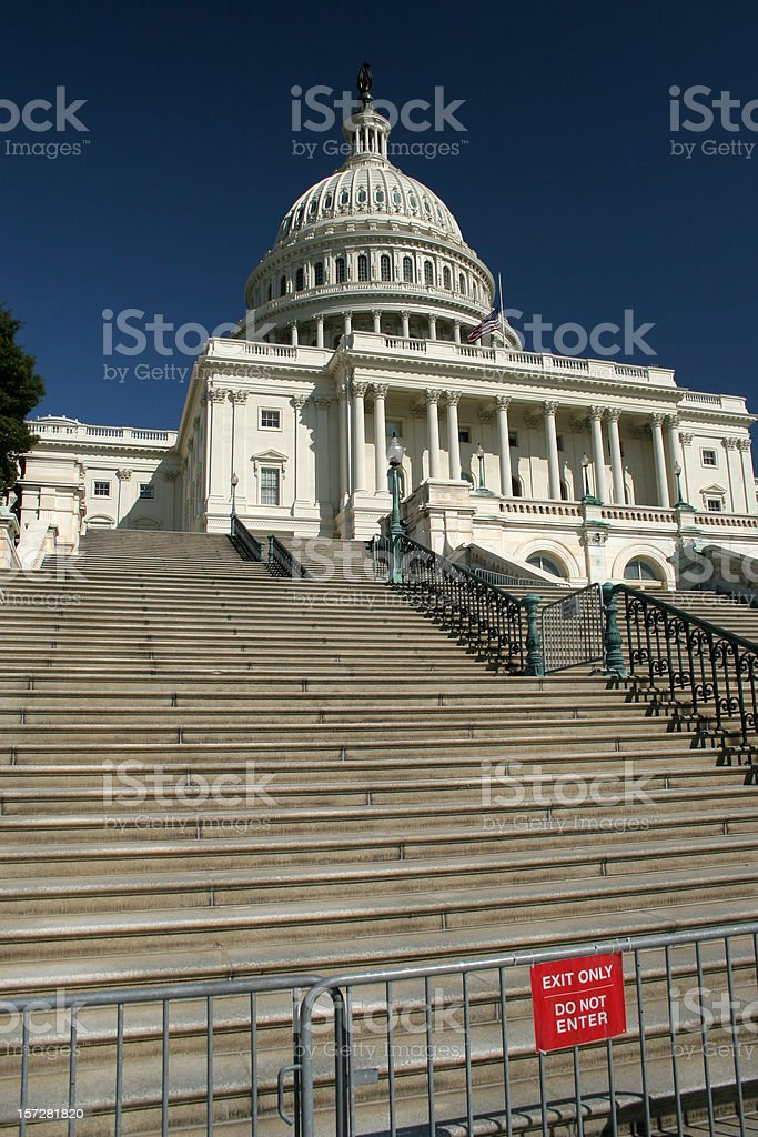 US Capital royalty-free stock photo