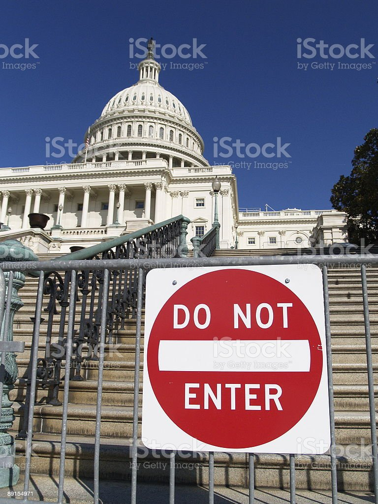 Capital Security royalty-free stock photo
