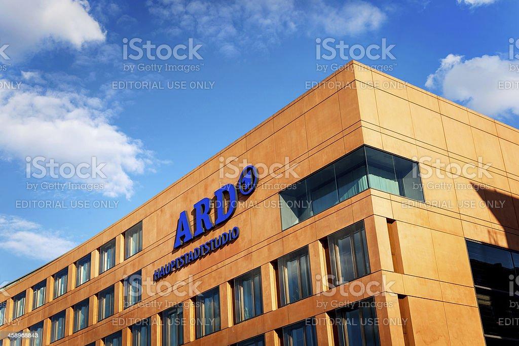 ARD capital studio Berlin stock photo