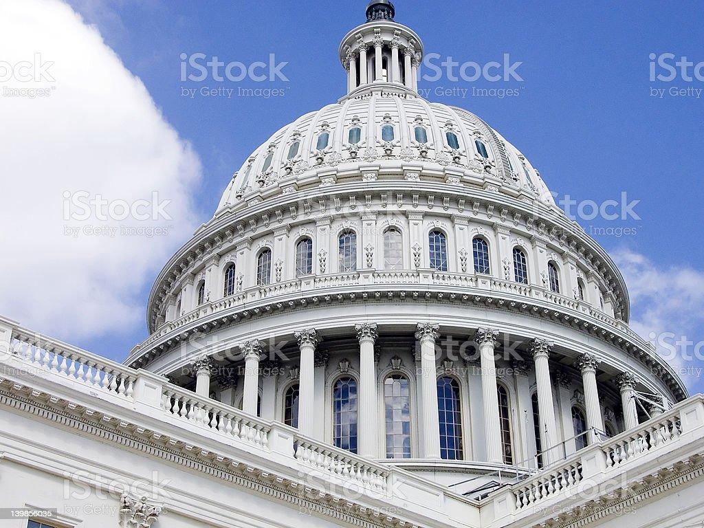 Capital - Washington D.C. royalty-free stock photo