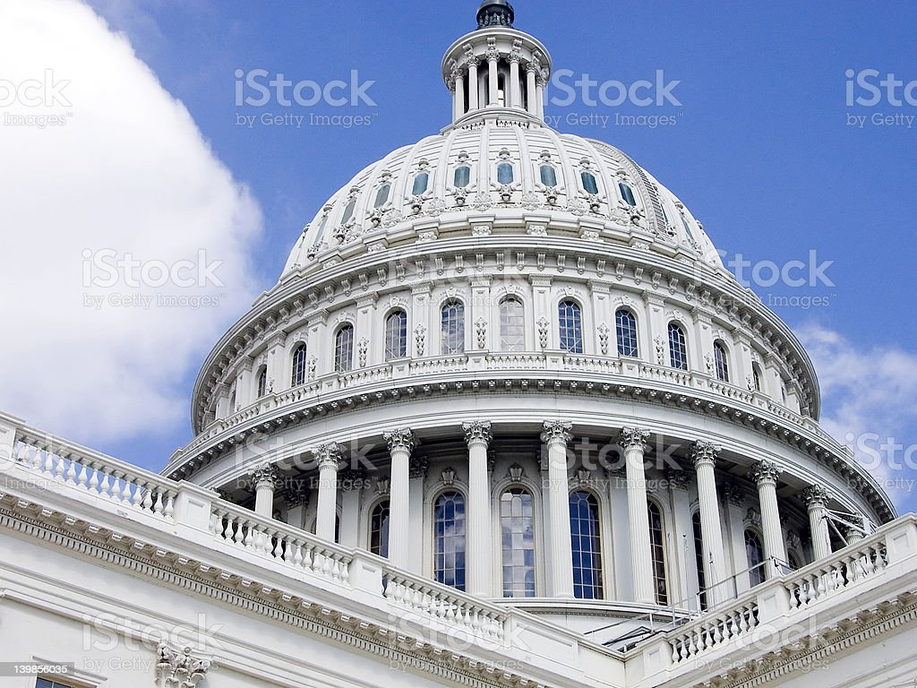 Capital - Washington D.C. stock photo
