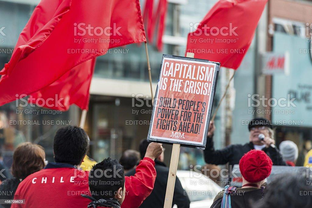 Capitalism stock photo