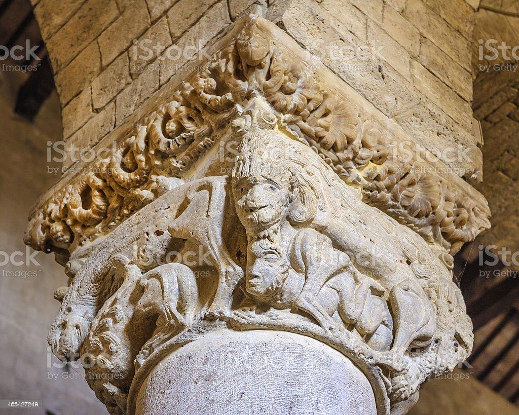 Capital's Detail royalty-free stock photo