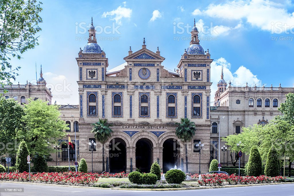 Capitania General in Seville royalty-free stock photo