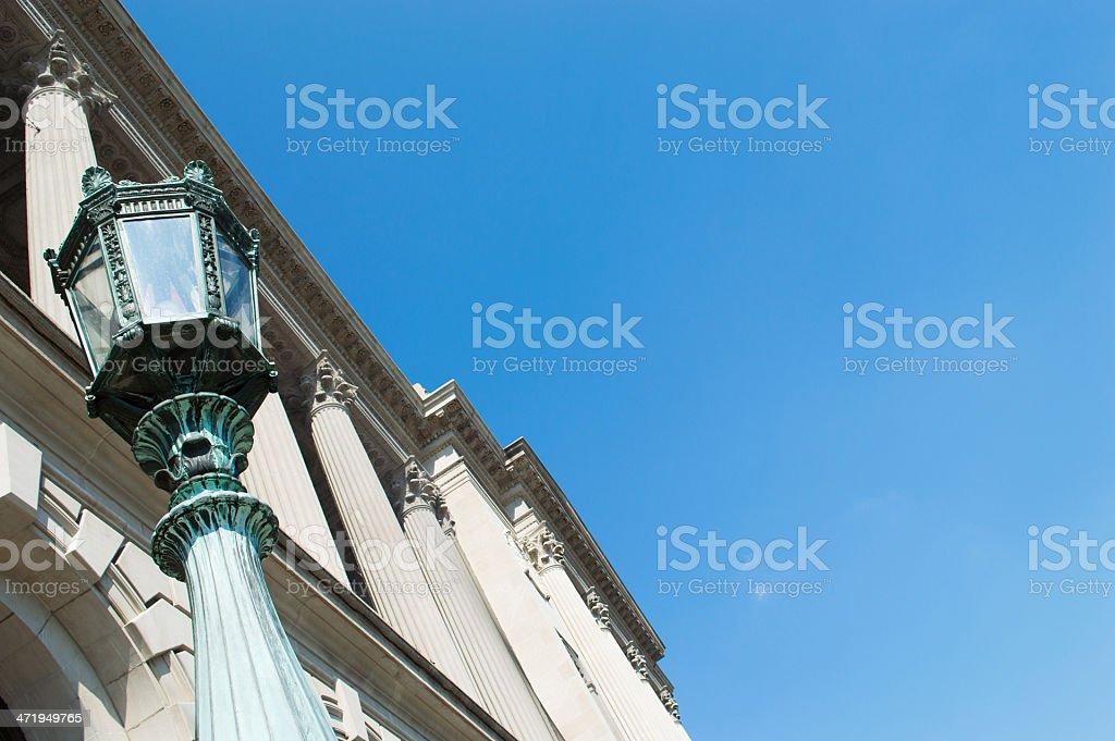 Capitels stock photo