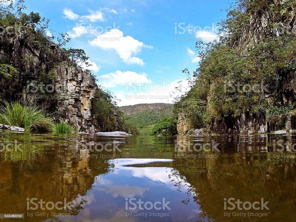 Capitólio - Minas Gerais - Brazil 2016 stock photo