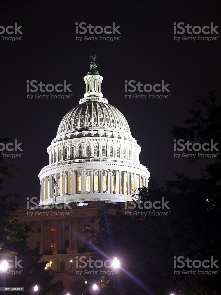 Capitol Building 1 royalty-free stock photo