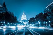 Capitol Building from Pennsylvania Avenue