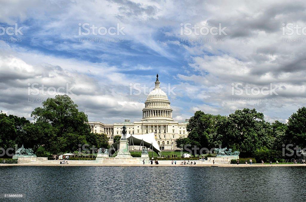 Capitol Building no DC foto royalty-free