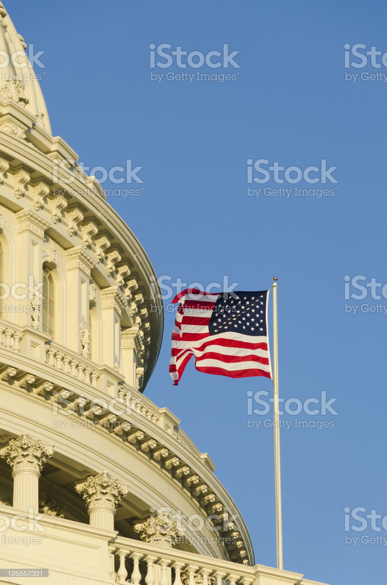 Capitol building in Washington DC USA royalty-free stock photo
