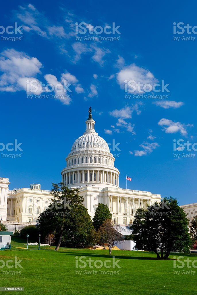 U.S. Capitol Building royalty-free stock photo