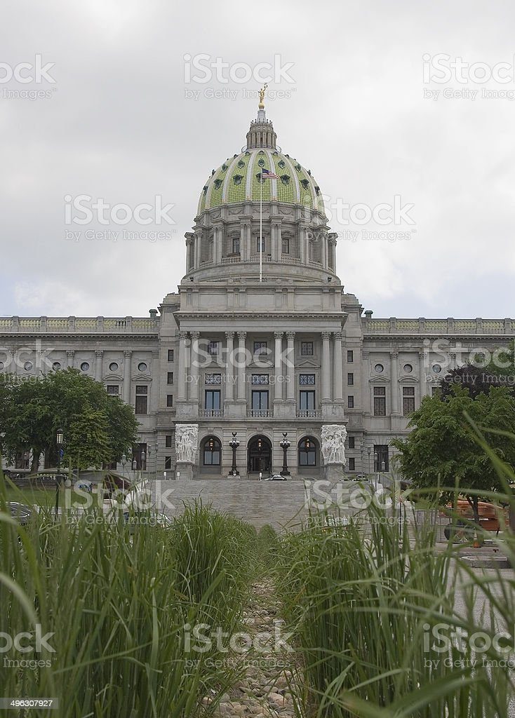 PA Capitol Building stock photo